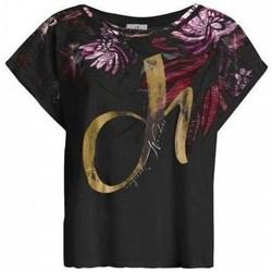 textil Mujer Camisetas manga corta Deha D4312210009 Negros