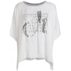 textil Mujer Camisetas manga corta Deha D43333 Blanco