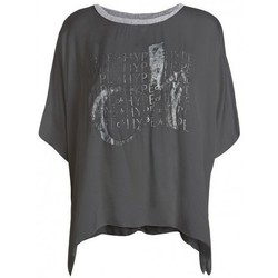textil Mujer Camisetas manga corta Deha D43333 Grafito