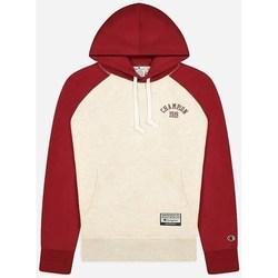 textil Hombre Sudaderas Champion 216571 Rojos, Crema
