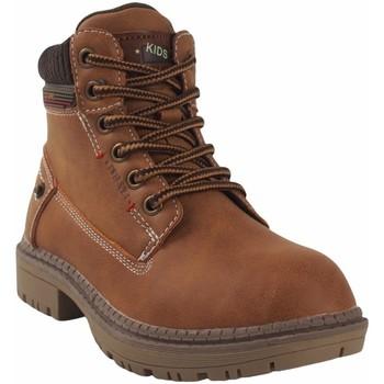 Zapatos Niño Botas de caña baja Bubble Bobble Botín niño  a3478 cuero Marrón