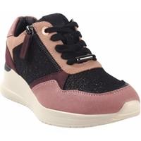 Zapatos Mujer Zapatillas bajas MTNG Zapato señora MUSTANG 60027 ne.ros Rosa