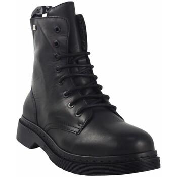 Zapatos Mujer Botas de caña baja Musse & Cloud Botín señora  efany negro Negro
