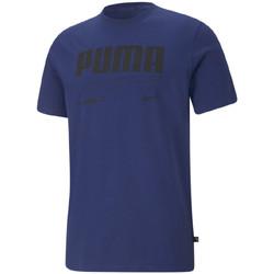 textil Hombre Camisetas manga corta Puma  Azul