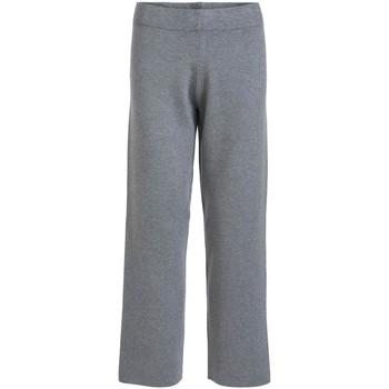 textil Mujer Pantalones Vila VIOLIVIE RW 7/8 KNIT PANT Gris