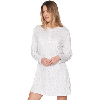 textil Mujer Pijama Admas Pretty Flowers GRIS JASPE
