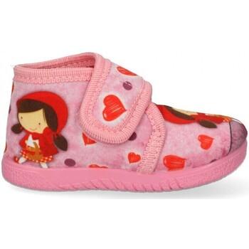 Zapatos Niña Pantuflas Luna Collection 60548 rosa