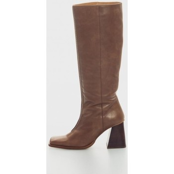 Zapatos Mujer Botas Angel Alarcon 21615 Marron