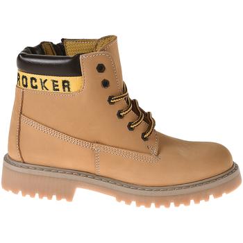 Zapatos Niños Botas de caña baja Melania MK6063F8I.C Amarillo
