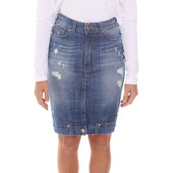 textil Mujer Faldas Y Not? Y17AI117 Azul