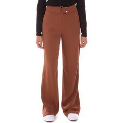 textil Mujer Pantalones fluidos Gaudi 121FD25014 Marrón