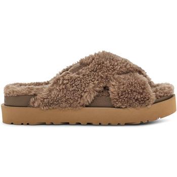 Zapatos Mujer Pantuflas UGG UGSFUZSHCK1120860W Marrón