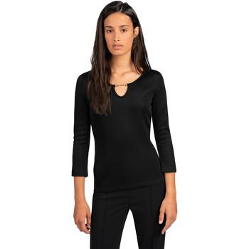textil Mujer Tops / Blusas Trussardi 56T00394-1T005339 Negro