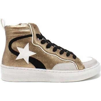 Zapatos Mujer Zapatillas altas Gold&gold B21 GB159 Marrón
