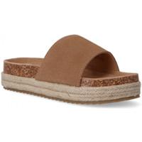 Zapatos Niños Zuecos (Mules) Xti Sandalia serraje MARRON