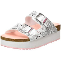Zapatos Niños Zuecos (Mules) Pablosky Sandalia bio  hebillas BLANCO