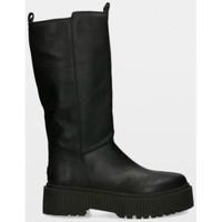 Zapatos Mujer Botas urbanas Musse & Cloud BOTA PLATAFORMA NEGRO