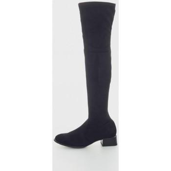 Zapatos Mujer Botas a la rodilla Kamome N995 Noir