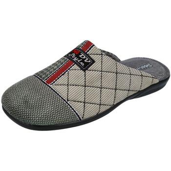 Zapatos Hombre Pantuflas DeValverde 3508 GRIS