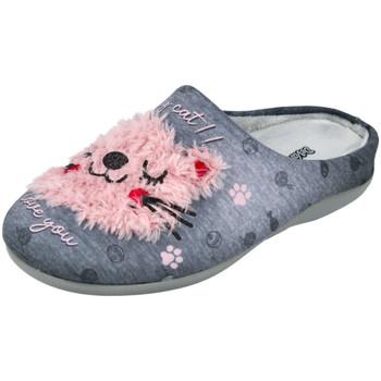 Zapatos Mujer Pantuflas DeValverde 6041 GRIS