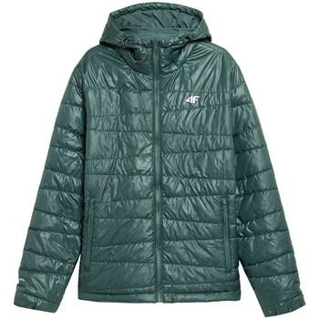 textil Hombre Chaquetas 4F KUMP005 Verdes