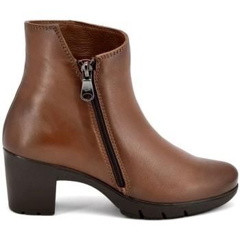Zapatos Mujer Botines Paula Urban 16-807 SAVANA COÑAC