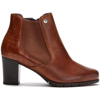 Zapatos Mujer Botines Pitillos 6365 CUERO/CUERO
