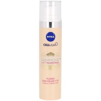 Belleza Maquillage BB & CC cremas Nivea Luminous 630º Antimanchas Fluido Con Color Spf20
