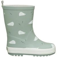 Zapatos Niños Botas de agua Fresk Hedgehog Rain Boots Verde