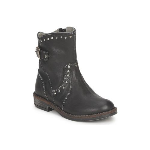 Zapatos Niña Botas de caña baja Noel FRANCA Negro