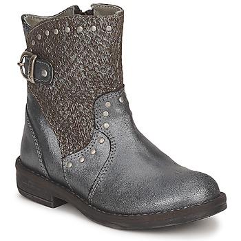 Zapatos Niña Botas de caña baja Noel FRANCA Plateado