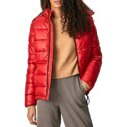 textil Mujer Abrigos Pepe jeans CAMILLE Rojo