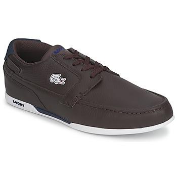 Zapatos Hombre Zapatos náuticos Lacoste DREYFUS MB Marrón / Azul