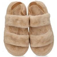 Zapatos Niña Pantuflas Luna Collection 60420 marrón