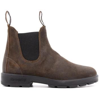 Zapatos Hombre Botas Blundstone 1615-MAN-DARK-OLIVE MARRONE
