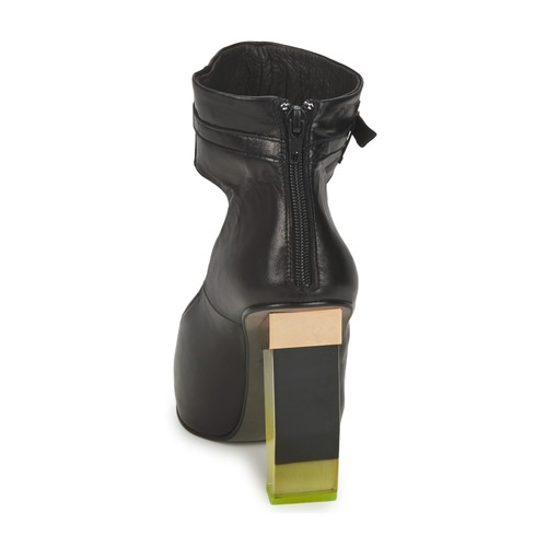 Negro Tacón Miista Zapatos Tacón Zapatos Miista De Negro De Zapatos Tacón De wPXukZiTOl