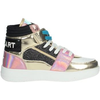 Zapatos Mujer Zapatillas altas Shop Art SA80243 Blanco/Oro
