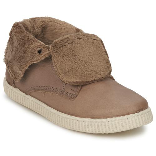 Zapatos Niña Zapatillas altas Chipie SABRINA Beige