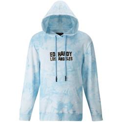 textil Chaquetas de deporte Ed Hardy Los tigre hoody Azul