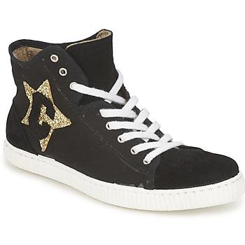 Zapatos Mujer Zapatillas altas Chipie JAVENE DOUDOU Negro