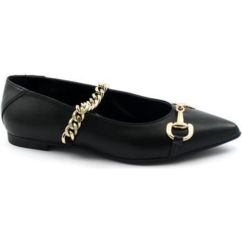 Zapatos Mujer Bailarinas-manoletinas Divine Follie DIV-I21-G03-NE Nero
