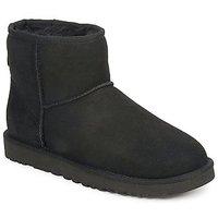 Zapatos Mujer Botas de caña baja UGG CLASSIC MINI Negro