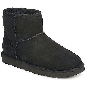 Zapatos Mujer Botas de caña baja UGG W CLASSIC MINI Negro