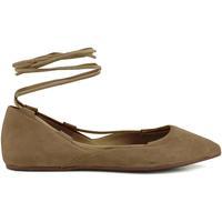 Zapatos Mujer Bailarinas-manoletinas Café Noir MMED506 273 TAUPE