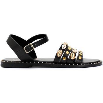 Zapatos Mujer Sandalias Café Noir GGGB174 010 NERO
