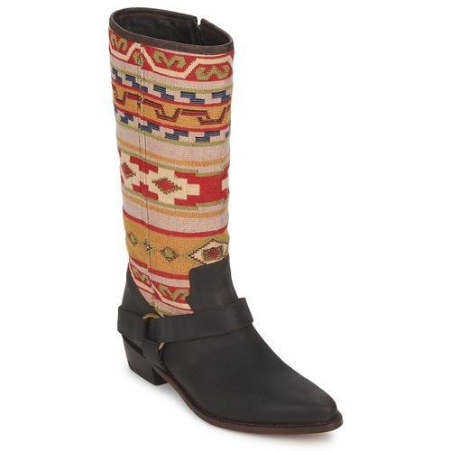 Zapatos de mujer baratos zapatos de mujer Zapatos especiales Sancho Boots CROSTA TIBUR GAVA Marrón- rojo
