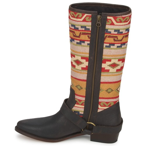 Gava Urbanas Sancho Boots Tibur Zapatos MarrónRojo Crosta Mujer Botas sxdhCtQr