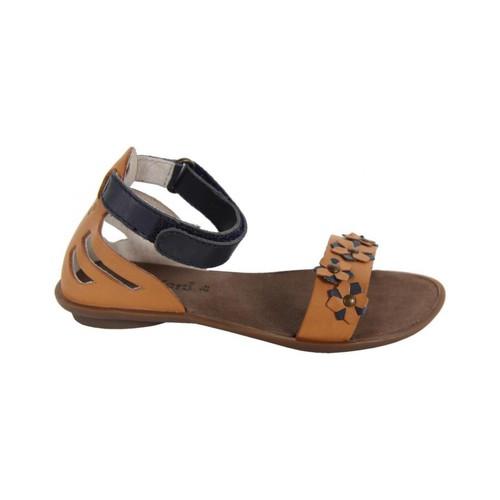 Zapatos Niña Sandalias Kickers 414440-30 ZONZA Beige