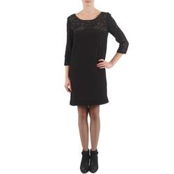 textil Mujer vestidos cortos Stella Forest ZRO045 Negro