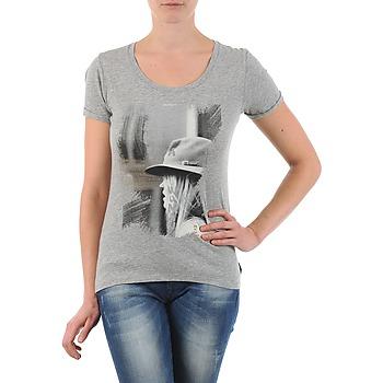 textil Mujer camisetas manga corta School Rag TORI Gris